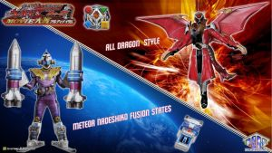 KR Fourze and Wizard Movie Ultimatum Form by blakehunter