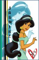Princess Jasmine by sleepyzebra