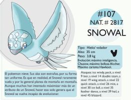 Pokemon Oryu 107 Snowal by shinyscyther
