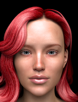 Red Head Girl 01 Porttrait by CutterTX