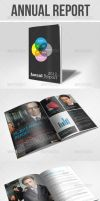 Annual Report Brochure by UnicoDesign