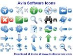 Avia Software Icons by Ikonod