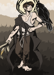 The Cornfield Witch by Inion-Revolution
