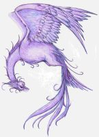 Purple Phoenix by Allaeysis