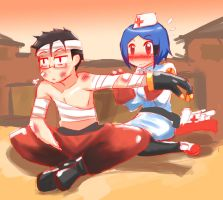 TF2: Bandages by ShantyPAPER