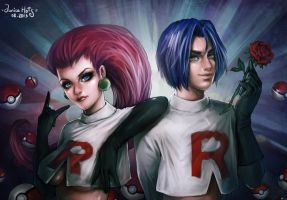 Team Rocket by Junica-Hots