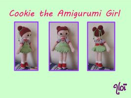Cookie, the Amigurumi Girl by AloiInTheSky