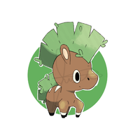 Grass starter: #001: ??? by DogMango
