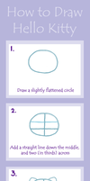How to Draw Hello Kitty Full Tutorial by foreverstrawberries