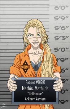 Mathilda Mathis (Earth-27) commission by phil-cho