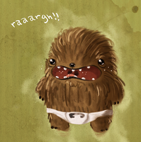 Baby Chewie by Ionahipri