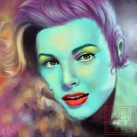 Grace Kelly by ebenejdne