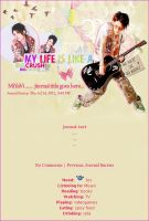 Miyavi journal skin by mittilla