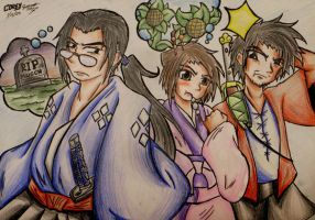Champloo Crew by miadoodle