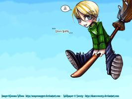Young Draco Malfoy by danes-sweety