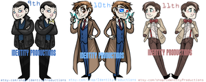 Doctor Who Set by IdentityPolution