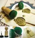 Laser Wax Seals by toenolla