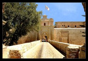 Gate To Mdina City - Malta by skarzynscy
