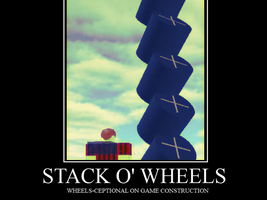 Stack 'o Wheels by PutinPot