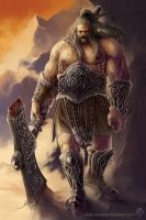 The Wanderers : Barbarian by misha-dragonov