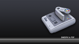 PSP SNES9X Background by freaky-design