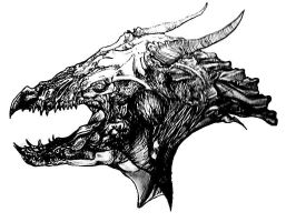 Dragonhead by Alderfly