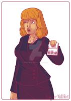 Harriet Jones, Prime Minister - Doctor Who by Kalumis
