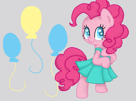 Pinkie pie is second best pony by PoofyPegasus