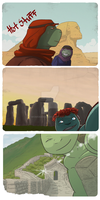 All around the World by MomoRawrr
