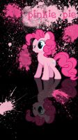 pinkie pie phone wallpaper/lock screen by beginerbrony