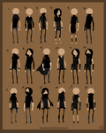 Outfit Designs 2 by Immonia