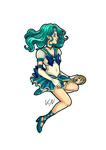30 days of what inspires me - Day 1 Sailor Neptune by Kaos-Felida