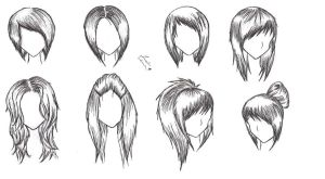 Female Hairstyles by alicewolfnas