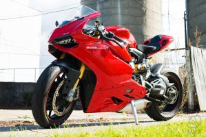 Ducati 1199 Penigale S by Shinigami-X
