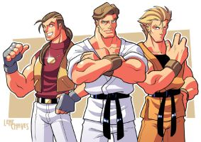 The best KoF trio ever by BezerroBizarro