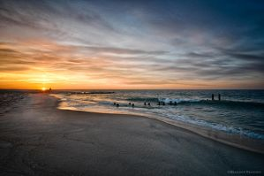 Cape May: Sunrise 01 by BrandonRechten