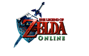 The Legend of Zelda ONLINE Logo 2 by AzureParagon