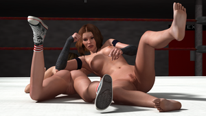 Emily vs Jessica 09 by cptn0bvious