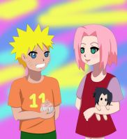Contest- Naruto and Sakura by daisuya13