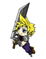 Chibi Cloud - JNetRocks by Tilimorf