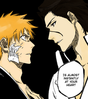 [Bleach] Confrontation [Coloured] by Arisuu-Kun