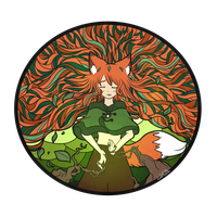 Give me your strength, Yggdrasil by LeahFoxDen