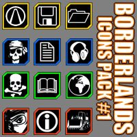 Borderlands2  - Icon Pack V1 by mentalmars