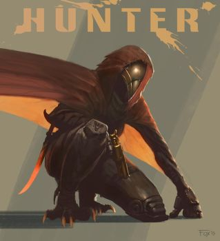 Destiny Hunter Redesign by edsfox