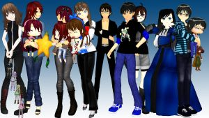 [MMD] Awesome people in deviantArt by MrMario31095
