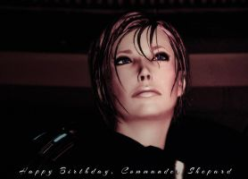 Happy Birthday, Shepard (2014) by GSJennsen