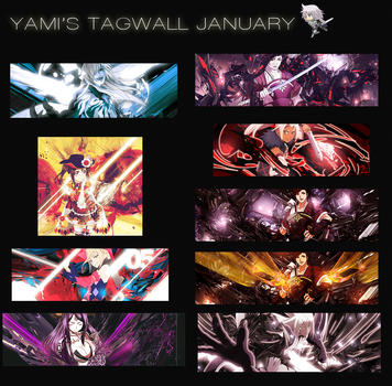 January Tagwall~ by sattellizer