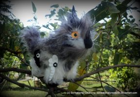 Little Tree Critter - Poseable Art Doll - SOLD by SonsationalCreations