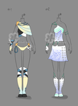 Some Outfit Adopts #17 - sold by Nahemii-san