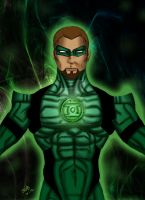 the green lantern by blueliberty